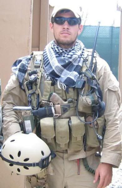 Danny Dietz  I'll never forget him or his sacrifice for me and my freedom.