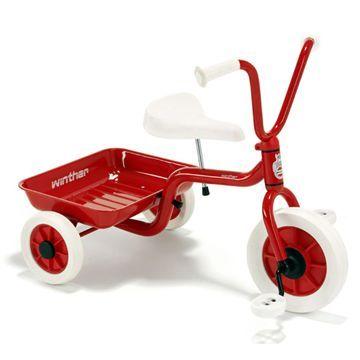 Winther Trehjulet cykel - rød 519 kr.