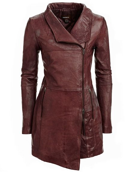 Danier leather coat I'm in love with this!