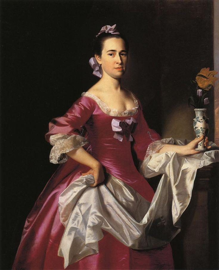 John Singleton Copley (1737-1815) Mrs George Watson (Elizabeth Oliver) Oil on canvas 1765 101.6 x 126.6952 cm (3 4 x 4 1.88)