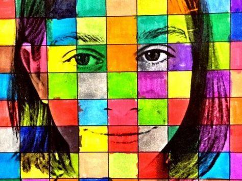 Montando um Quadriculado Colorido Usando uma Foto de Perfil
