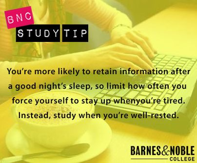 how to study when you are tired