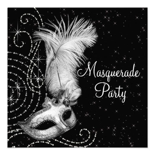 The 25+ best Masquerade party invitations ideas on Pinterest ...
