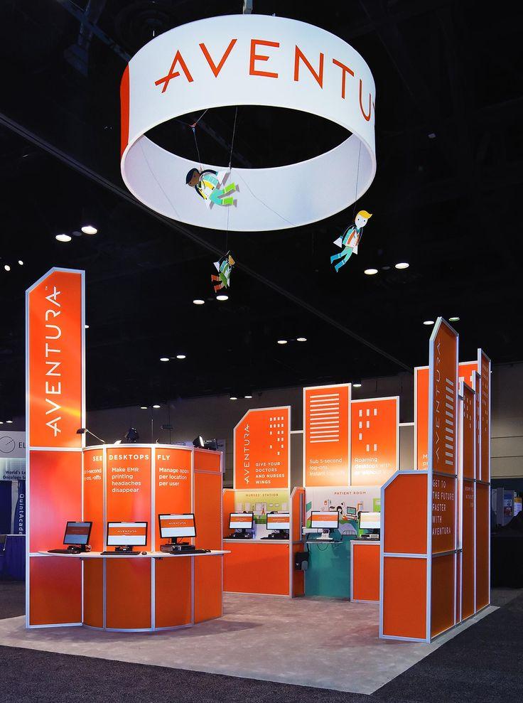 RBMM – Graphic Design Dallas, TX | Aventura Trade Show Booth