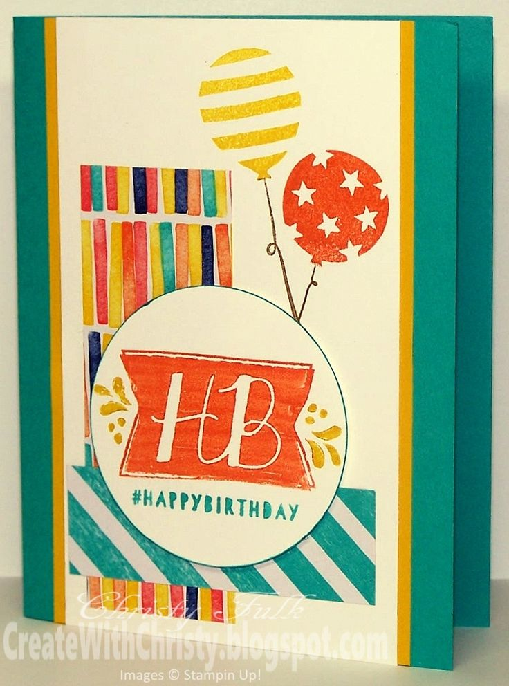 Stampin' Up! Balloon Bash - Create With Christy - CPC44 - Christy Fulk, Stampin' Up! Demo