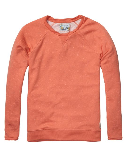 sweater with raglan sleeves | sweat | Men Clothing at Scotch & Soda