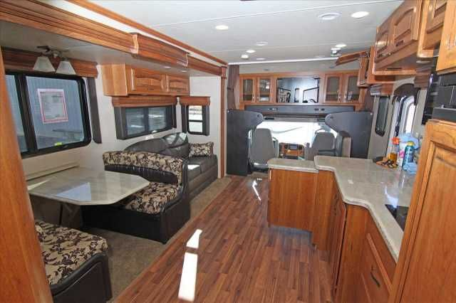 2016 New Jayco SENECA 37FS Class C in Arizona AZ.Recreational Vehicle, rv, This Fantastic Class C Motorhome has a Cummins DIESEL engine with a Freightliner Business Class M2 chassis. It is the Humvee of RV's! Backup, sideview cameras with monitor. J-Ride Premium:rear air suspension, front sway bar, full air brakes, frameless windows, 15K air conditioners(2, 1800 watt pure sine inverter, electric power cord reel with 50 amp service, 12CF refrigerator with ice maker, convection microwave…