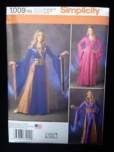 Simplicity 1009 1487 R5 14 22 Game of Thrones Cersei Lannister Costume Pattern | eBay