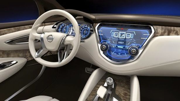 2017 Nissan Leaf - interior
