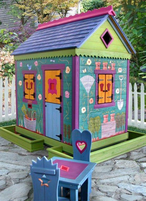 Bauen Bienenimgarten Degerlochgarten Designideen Eigenerspielplatz Feuerstelleimgartenselberbauen Ga Kinder Spielhaus Garten Kinderhaus Spielhaus Garten