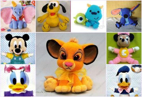 Amigurumi Munecos Disney : 1000+ images about Amigurumis: pel?culas infantiles ...