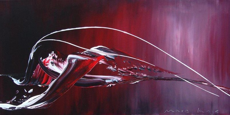 Foto: New painting: 'Orbis', 120 x 60 cm.