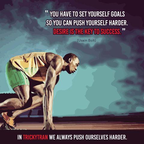 Usain Bolt Inspiration Olympics Running