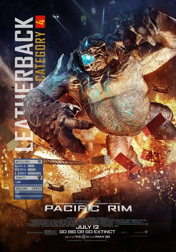PACIFIC RIM - New Kaiju Clip, Featurette, Banner, and Posters — GeekTyrant