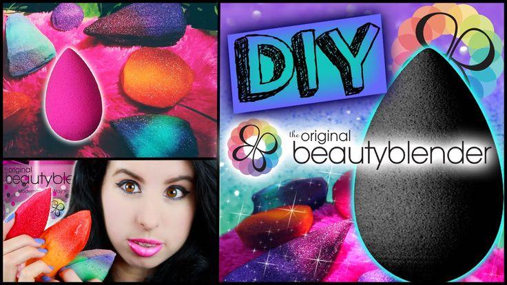 DIY Beauty Blender!   Make Your Own Beauty Blender!   Cheap & Easy To Ma...