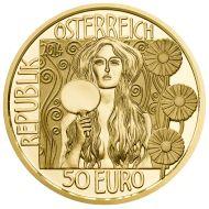 Auch diese #Muenze aus #Gold fasziniert durch aufwendige Prägung und höchste Qualität. Weitere Sammlermünzen dieser wertvollen Serie sind Adele Bloch-Bauer, Die Erwartung, Hygieia und Der Kuss. Jetzt Judith II im Münze Österreich Online Shop bestellen oder die gesamte #Klimt Goldmünzen Münzkollektion im Sammler-Abo sichern und sammeln.