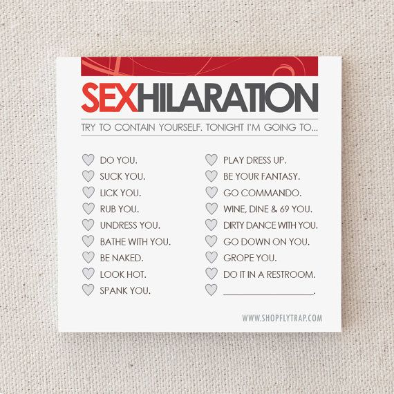 """Naughty, Adult Anniversary Gift. Sexy Sticky Notes. For Husband, Wife, Boyfriend, Girlfriend. Paper. First 1st. """"Sexhilaration"""" (NSN-L001) on Etsy, $5.66 CAD"""