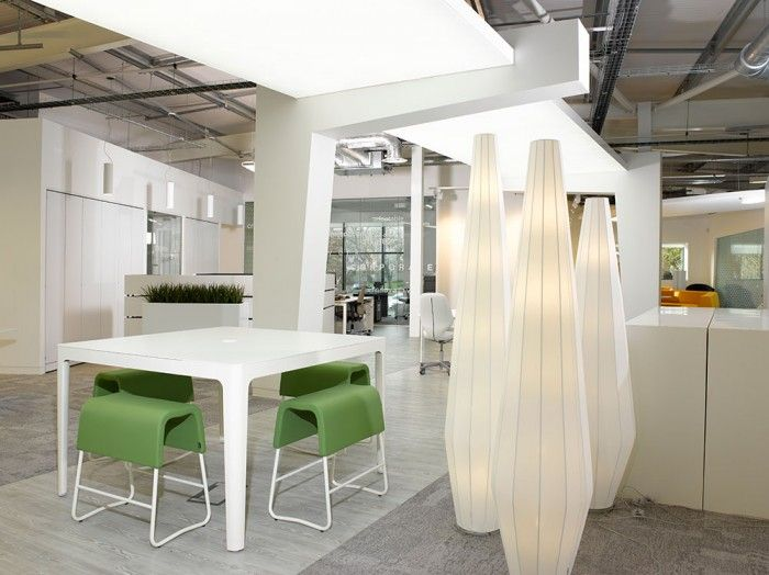 Cool offices paramount interiors showoffice in cardiff uk