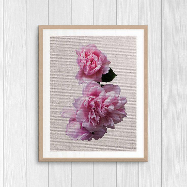 Botanical Art - Peony Print - Nature Poster - Plant Print - Nursery Art - Printable Gift - Peony Wall Decor - Digital Art - Peony Photo by Thestrangerboutique on Etsy