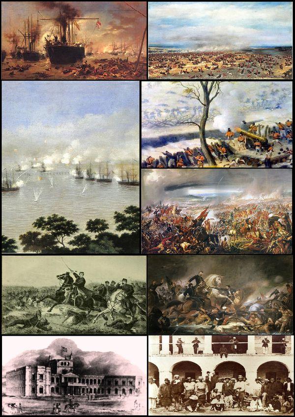 Guerra de la Triple Alianza -- Escenas de la Guerra de la Triple Alianza.png