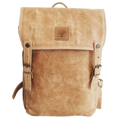 Pepper Tree Leather Backpack