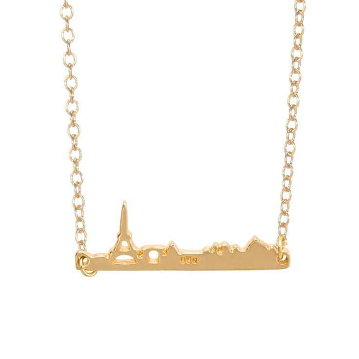 Collier fantaisie de créateur, un collier chic et tendance plaqué or , à offrir où s'offrir à petit prix! Délicate chaîne à maillon 55cm Emballage cadeau offert!