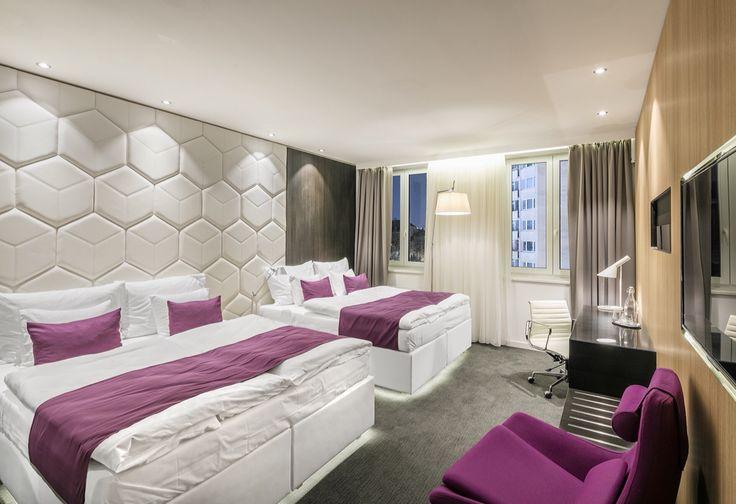 Superior Quad Room Deluxe - nově jsme pro Vás připravili tento čtyřlůžkový skvost v Grand Hotelu**** Imperial. #pytloun #modern #design #room #accomodation #liberec #imperial
