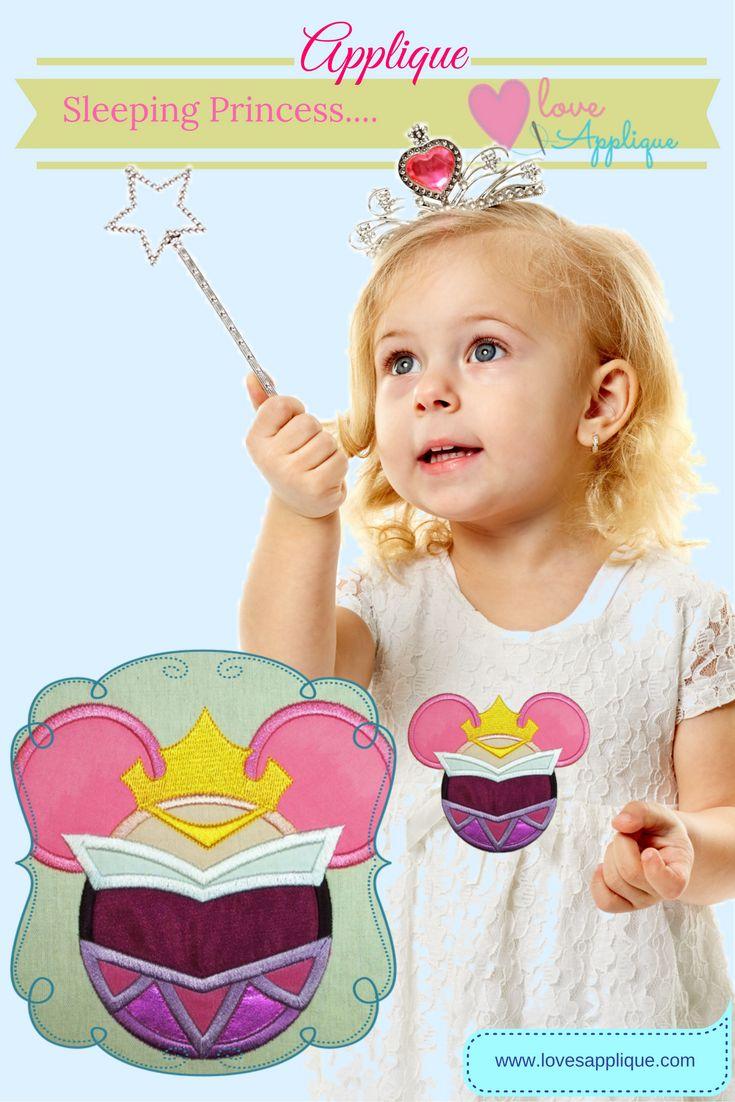 Sleeping Beauty Applique. Princess Aurora. Disney Princess, Princess Outfits. Sleeping Beauty Party Ideas, www.lovesapplique.com