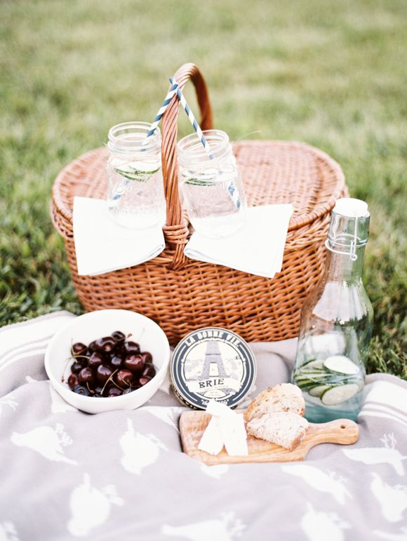 Orchard Picnic Engagement by Justin Tearney