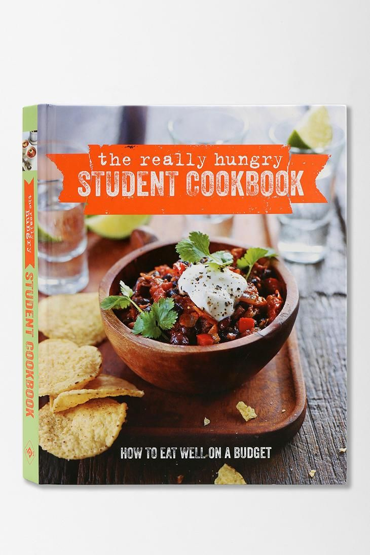 The Really Hungry Student Cookbook By Ryland Peters & Small #urbanoutfitters