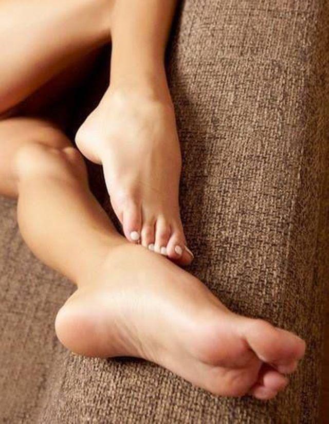 Nice feet sex