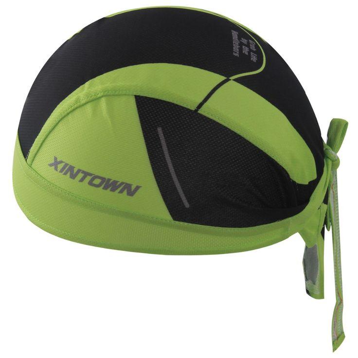 Cycling Caps Sweatproof Sunscreen Headwear Bike Team Scarf Coif Bicycle Bandana Pirate Headband Riding Hood Sports hat Headcloth