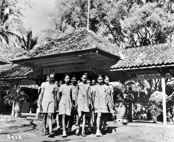 Kartinischool, Jakarta 1950an