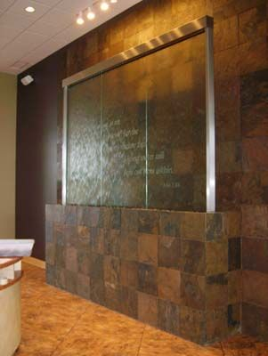 35 best lobby waterfall images on Pinterest | Water walls, Indoor ...