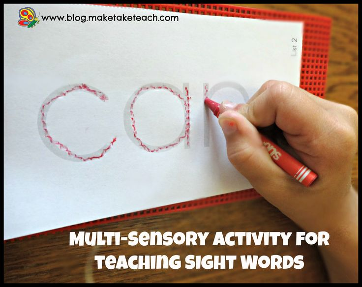 Super easy multi-sensory teaching activity for teaching letters or sight words.