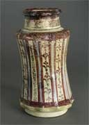 Albarello from Syria, late 12th early 13th. C. From LACMA collections.