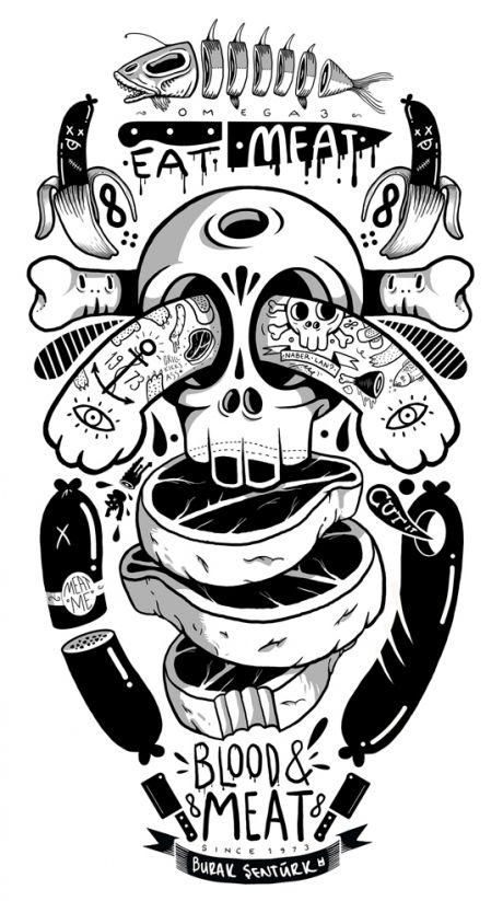 Inspiration | Meat Me By Burak Senturk