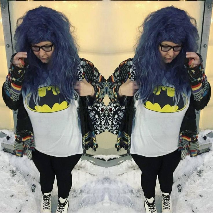 @russintuss Looks so cute with big hair in her Lush Wigs / Grey Witch wiggy  #lushwigs #lushwigsgreywitch #wig lushwigs.com