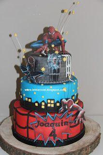 lekker zoet: Spider man voor Joaquin 4 jaar