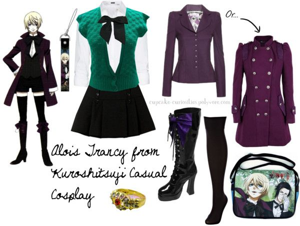 Cosplay Every Day: alois trancy - kuroshitsuji - casual