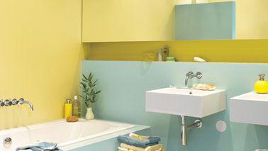 Quelle peinture pour repeindre la salle de bain sorbet for Quelle peinture pour plafond salle de bain