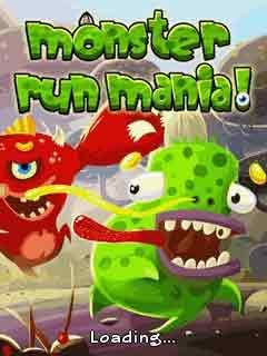 Monster Run Mania para celular - http://www.baixarjogosparacelular.co/monster-run-mania/ #JogosArcade, #celular, #apps, #download, #Smartphone -  Fonte: http://www.baixarjogosparacelular.co - Monster Run Mania java download baixar jogos – Mesmo monstros medo de monstros. Mas nem todos os monstros do mal! Às vezes, eles são muito fofos. Ajuda Freddie pequeno monstro verde fugir desses terríveis criaturas vermelhas. Explore 3 mundo fantástico cheio de perigos e arma