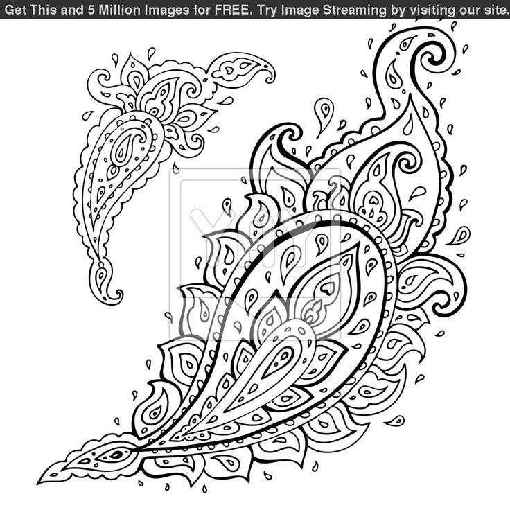 Gallery For > Paisley Lace Tattoo