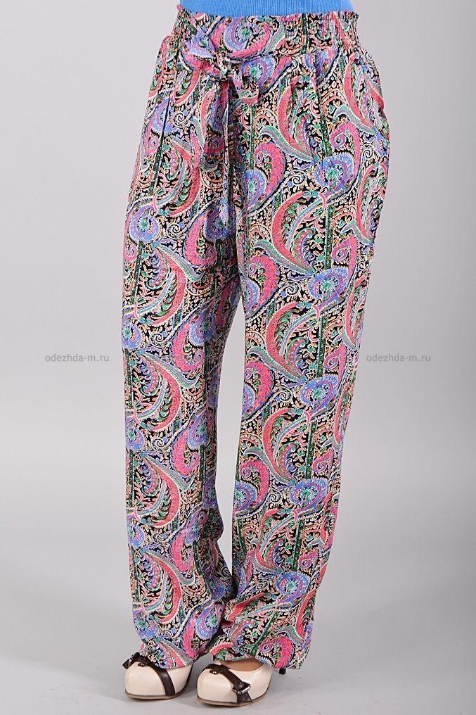 Брюки Б8616  Цена: 350 руб    Стильные брюки на эластичном поясе свободного кроя.  Украшены контрастным узором.  Состав: 100 % хлопок.  Размеры: 46-52     http://odezhda-m.ru/products/bryuki-b8616     #одежда #женщинам #брюки #одеждамаркет