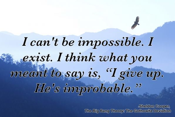 If Sheldon Cooper Quotes From <i>The Big Bang Theory</i> Were Inspirational Posters - Page 2 - Recommended Photos - CBS.com