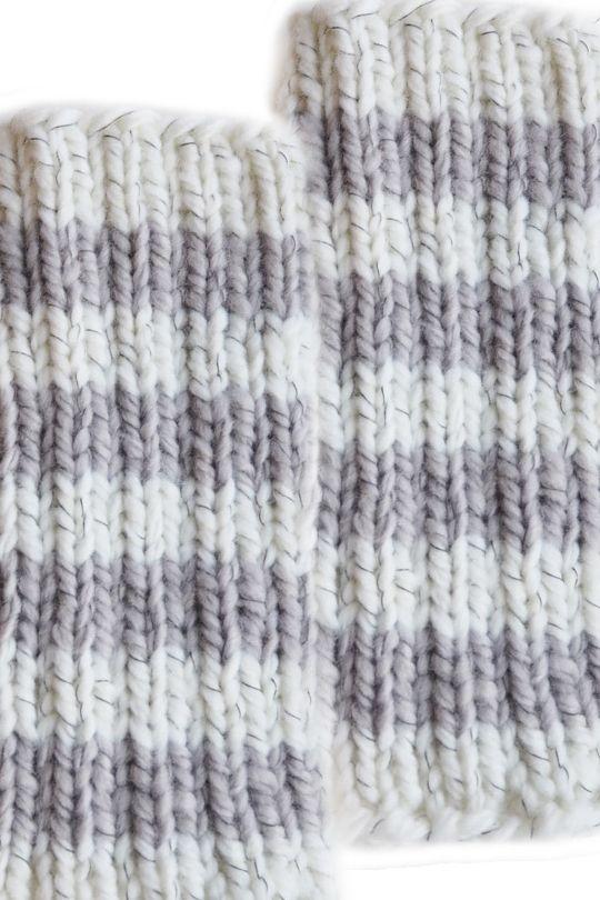 Neulotut säärystimet Novita Heijastus | Novita knits