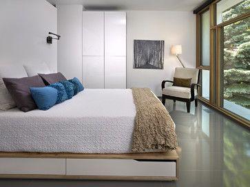 LG House - Interior - Modern - Bedroom - Edmonton - thirdstone inc. [^]