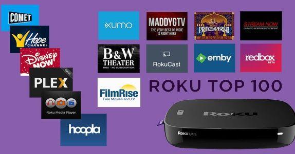 Top 100 BEST Roku Channels | Tv info | Roku streaming stick