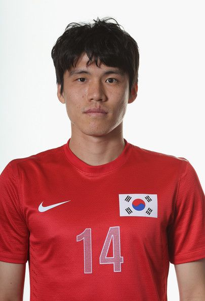 Changsoo Kim Photos Photos - Changsoo Kim of the Korea Republic Men's Olympic football team poses for a portrait on July 22, 2012 in Newcastle upon Tyne, England. - Korea Republic Men's Official Olympic Football Team Portraits