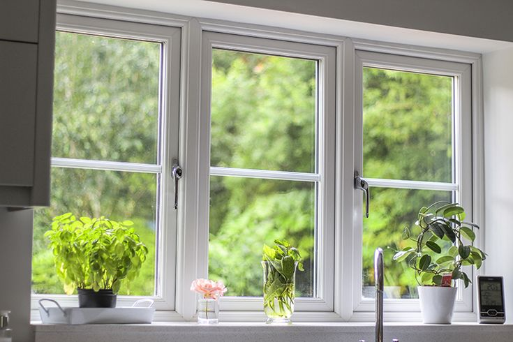 White Rustique uPVC Windows, Composite Front Door, French Doors and Roofline, Finchampstead, Wokingham, Berkshire - Thames Valley Windows